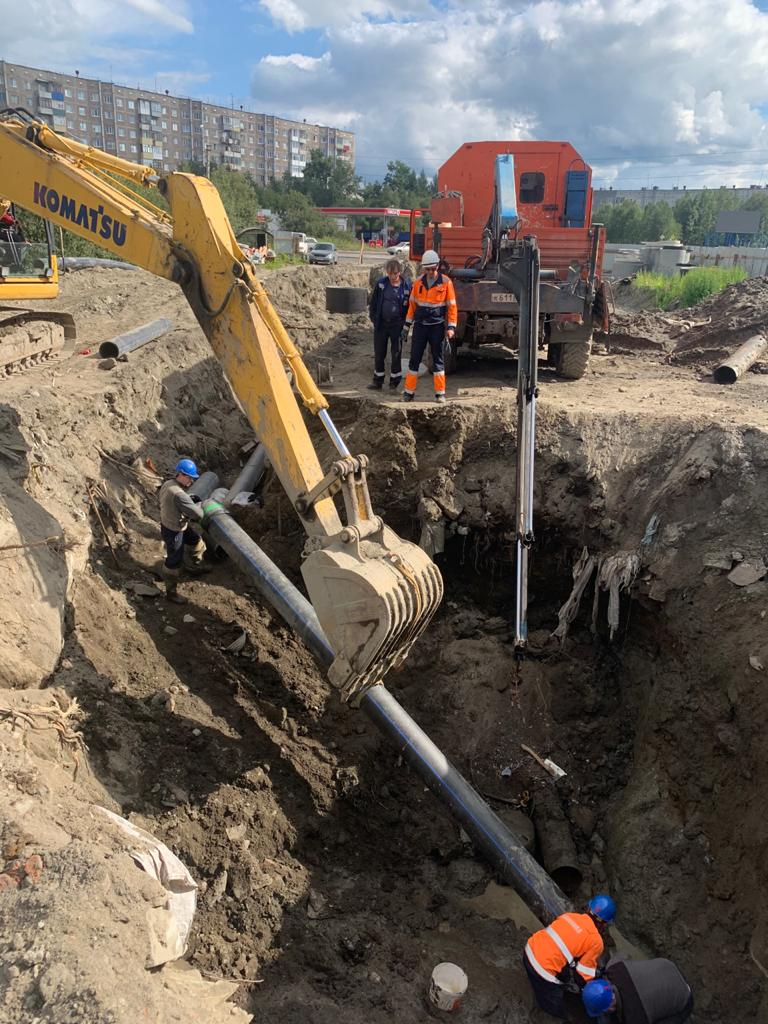 Подключение социально-значимых объектов к сетям водоснабжения и водоотведения