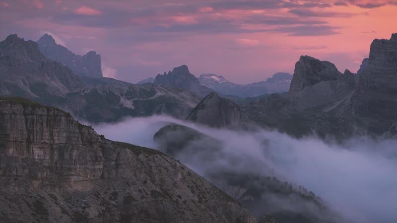 GIANTS' WHISPERS Dolomites Timelapse