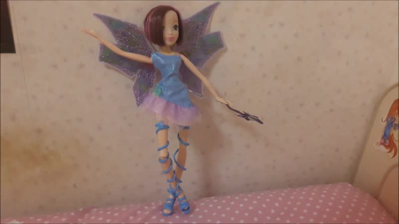 Winx transformation doll Tecna Mythix