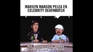 MARILYN MANSON  EN PELEA CELEBRETY DEATHMATCH