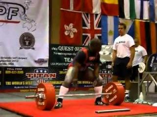 David Ricks 328kg pull