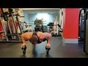 Отжимания от перевернутых гирь.Тренируем стабилизаторы туловища и плечевых суставов