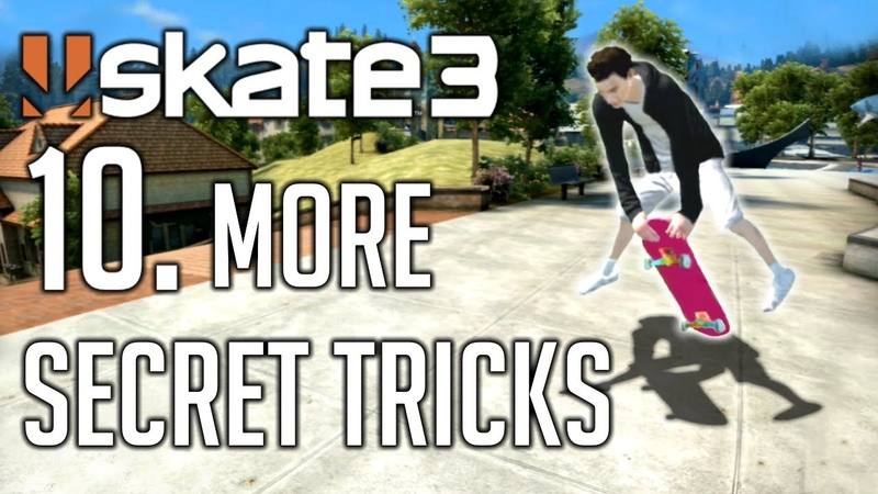 Skate 3 - 10. More Secret Tricks Tutorial