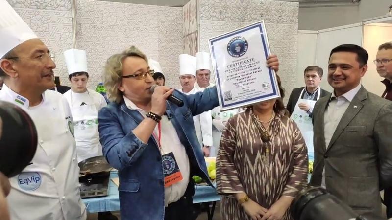 Самый большой лагман и советы от шеф повара Хакима Ганиева