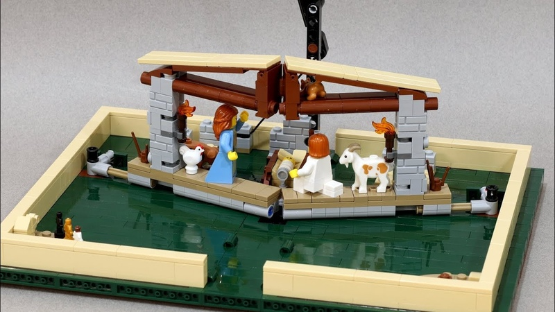 LEGO Nativity Pop-Up Book Instructions