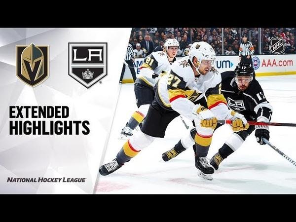 Vegas Golden Knights vs Los Angeles Kings Oct 13, 2019 HIGHLIGHTS HD