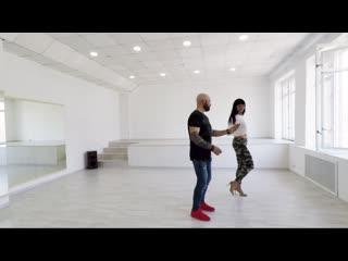 Мария Коновалова и Максим Прокопчук. Кизомба в Dance House.