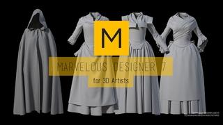 Marvelous Designer Basics for 3D Artists