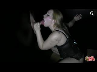 Spanish Glory Hole /  - Violeta, 2010-2021 / Brunette, Big Tits, Blowjob, Handjob, Cumshot, Swallow, Creampie
