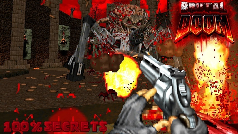 BRUTAL DOOM v21 TOMTEFAR'S Edition HellScape on Earth 100% SECRETS