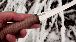 Филейный нож для рыбы. Белуга. Зубцы для чистки.