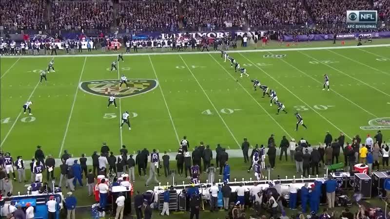 Балтимор Рейвенс - Теннесси Тайтенс (Дивиионный раунд 2019-2020) сжатая игра