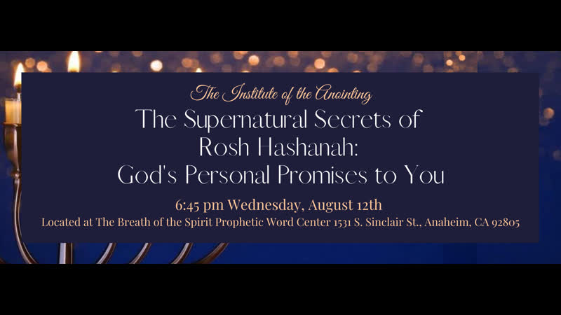 Dr. Michelle Corral on Facebook Watch The Supernatural Secrets of Rosh HaShanah