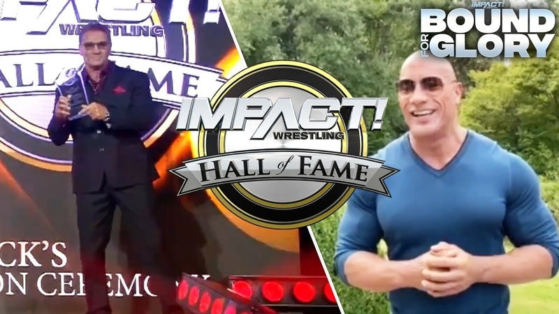 The Rock's Special Hall of Fame Message to Ken Shamrock Bound For Glory 2020 Highlights