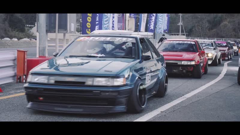 JVC Car Modify Wonder New Year Drifting at Nikko Circuit