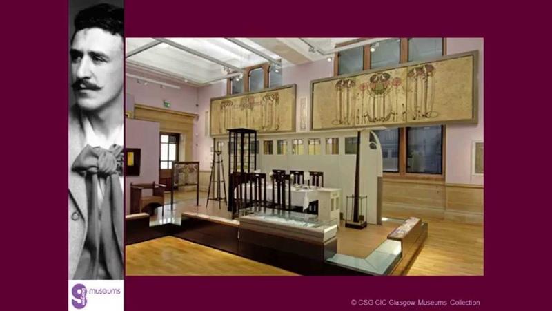 Чайные комнаты Чарльза Ренни Макинтоша в Глазго / Charles Rennie Mackintosh's Glasgow tearooms