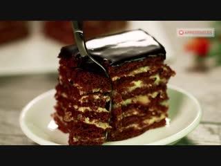 Ручаемся, не пожалеете! Шоколадно-медовый торт Спартак - безумно вкусный и нежный!~ Умный Дом ~