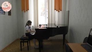 Конкурс молодых пианистов им. Ф.Н. Тютрюмовой. I возрастная группа. Загибалова Вероника