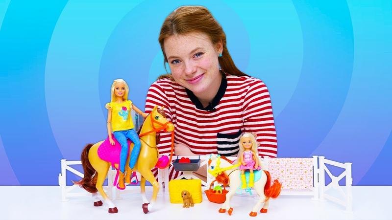 Spielzeug Video auf Deutsch Wir packen Puppen aus 2 Folgen am Stück