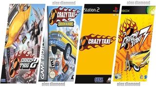 Crazy Taxi Evolution in Game 2020 / Crazy Taxi Эволюция в играх 2020