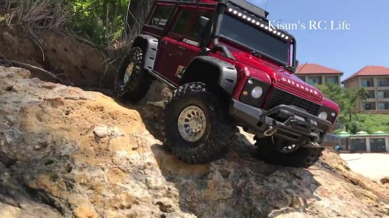 Traxxas TRX4 LandRover Defender - Special Edit Video