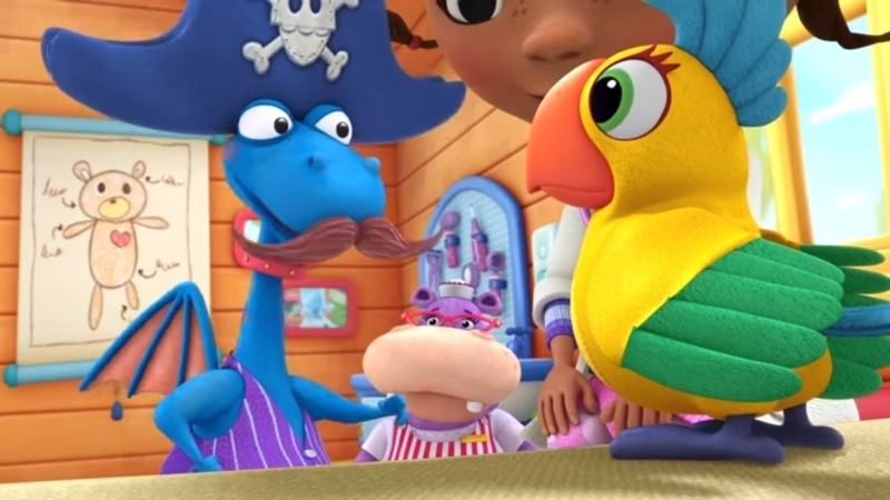 Доктор Плюшева Серия 16 Сезон 3 самые лучшие мультфильмы Disney для детей