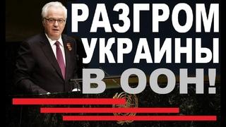 Заявление Виталия Чуркина в ООН по Украине, которое PAЗГРОМИЛО весь Запад