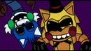 Five Nights at Sonic's Manaic Mania PLUS: Toy Golden Sonic Cobalt Taingle skin showcase