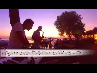 Sax & Dj - Improvisation at Sunset and sheet music for Saxophone Alto
