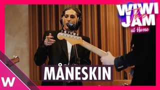 "Måneskin (Italy Eurovision 2021)  ""Zitti E Buoni"" & ""I Wanna Be Your Slave"" | Wiwi Jam at Home"