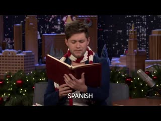 Niall Horan can do accents