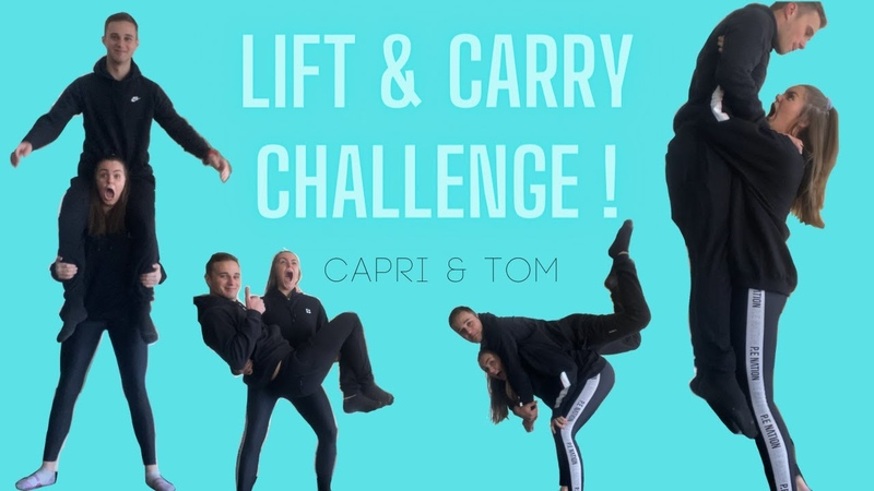 Couples Lift and Carry Challenge