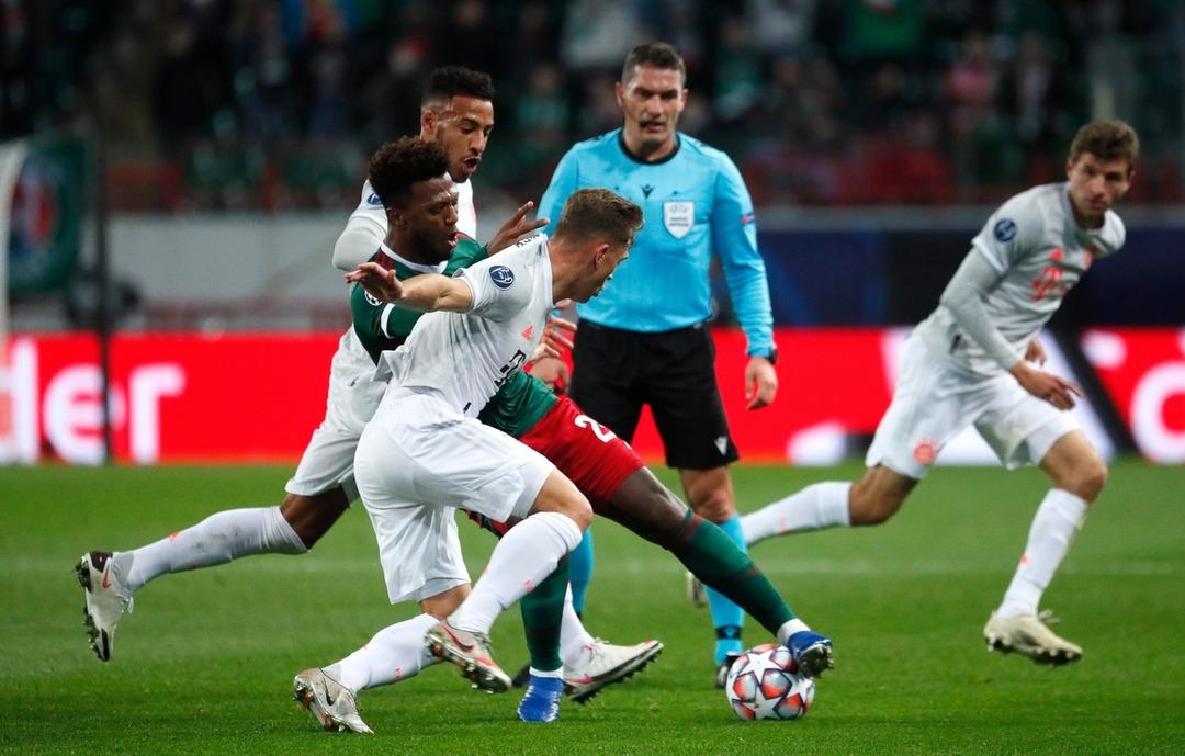 Локомотив - Бавария, 1:2. Лига Чемпионов