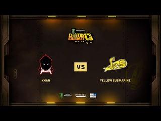 Khan vs Yellow Submarine, Monster Energy DOTA Summit 13: EU/CIS, bo3 game 2 [Mortalles & Adekvat]