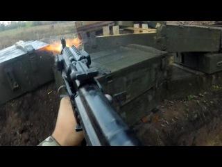 Ukraine War - Helmet Cam Combat Footage During Intense Firefight