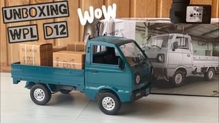 WPL D12 unboxing - №1 от WPL, бюджетный Suzuki Carry ST90 | poritorrc