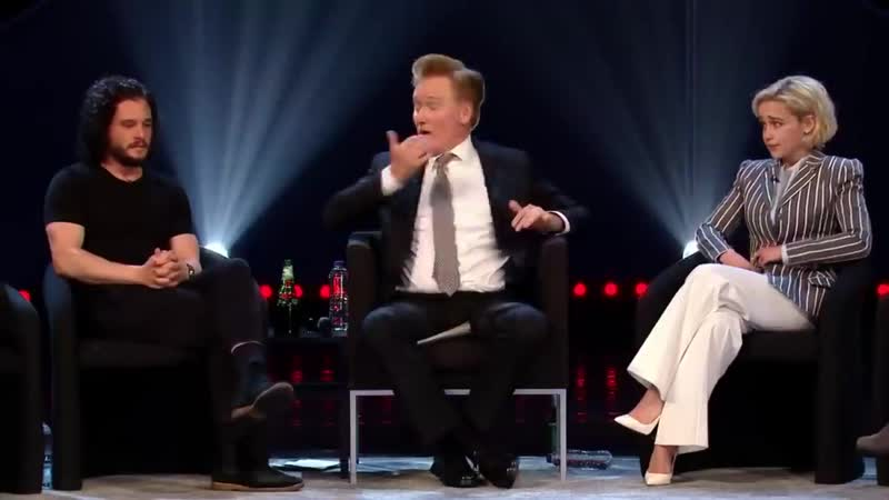 Кит Харингтон и Эмилия Кларк о съёмках в Игре престолов