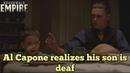 Boardwalk Empire- Al Capone realizes his son is deaf