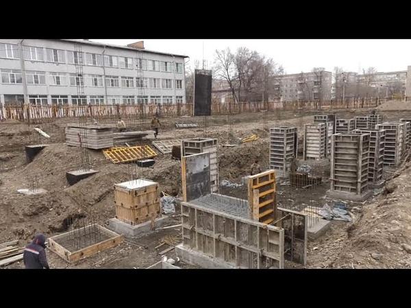 В Абакане продолжается строительство дополнительного корпуса на 120 мест к детскому садику Ёлочка