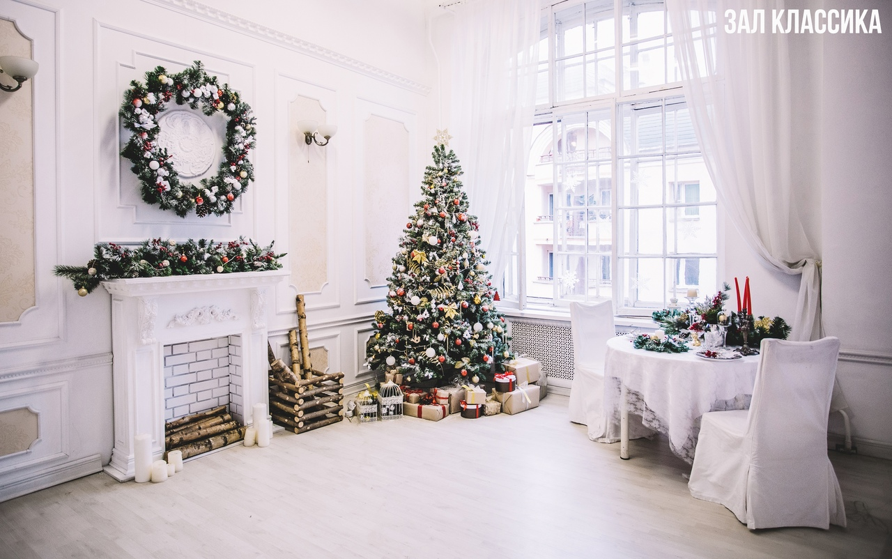 симпатичный фотостудии с новогодними декорациями ладожская тебе здоровья
