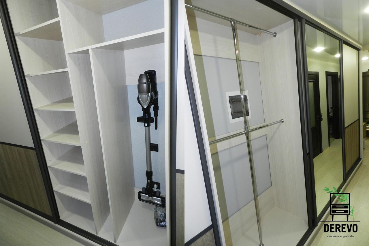 Длиннющий шкаф в коридор.