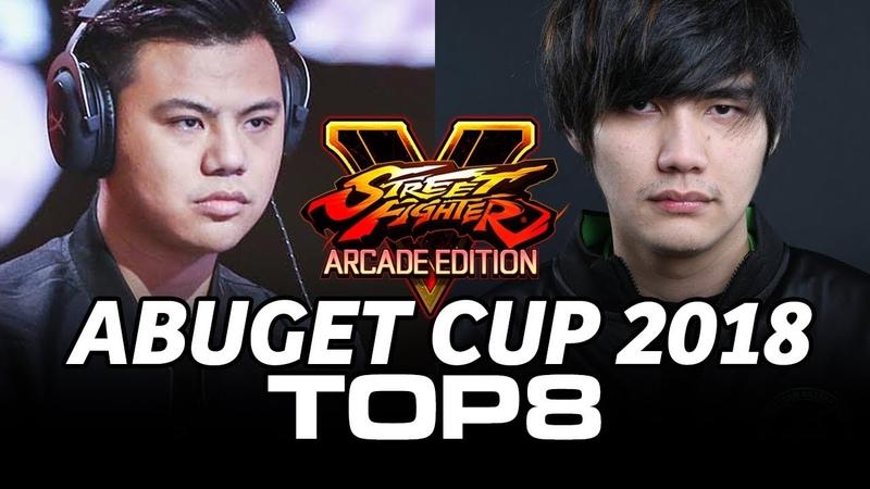 ABUGET CUP 2018 SFV TOP8 (TIMESTAMP) XiaoHai Gachikun Xian Poongko Mago StormKubo Fuudo Haitani
