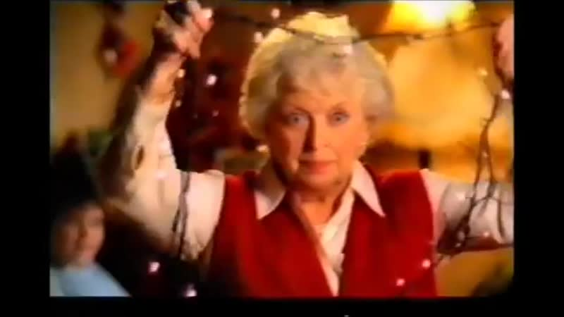 Woolworths Christmas advert 2001 June Whitfield