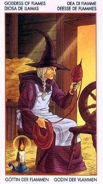 Таро Юных Ведьм. Младшие Арканы. Факелы -v-as489ceg
