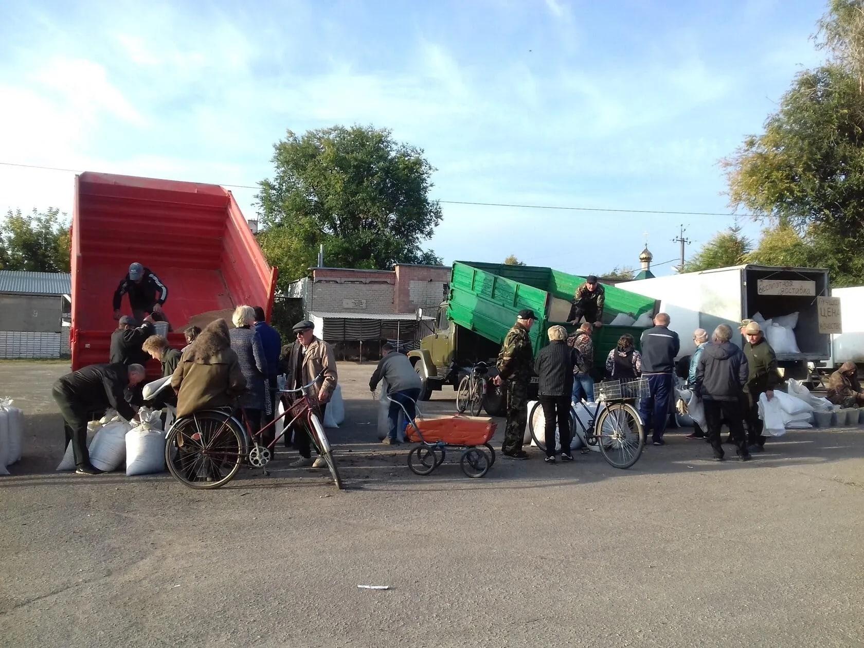 26 сентября на территории большого рынка состоялась очередная сельскохозяйственная ярмарка