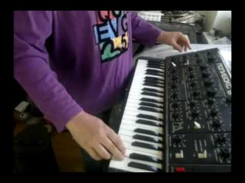 Polivoks with midi mod made in 1985y