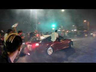 G8 Crashes Into ENTIRE CROWD! Car Meet Gone BAD..