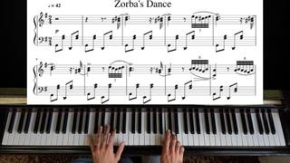 Zorba The Greek - Piano Tutorial