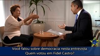 Fidel Castro foi ou não um DITADOR, Dilma Rousseff?!