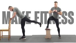 Тренировка на Ноги и Ягодицы за 20 минут   Накачать Попу в Домашних Условиях